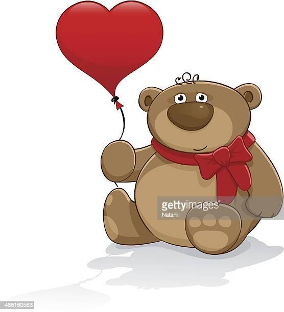 Urso de Pelúcia com balão
