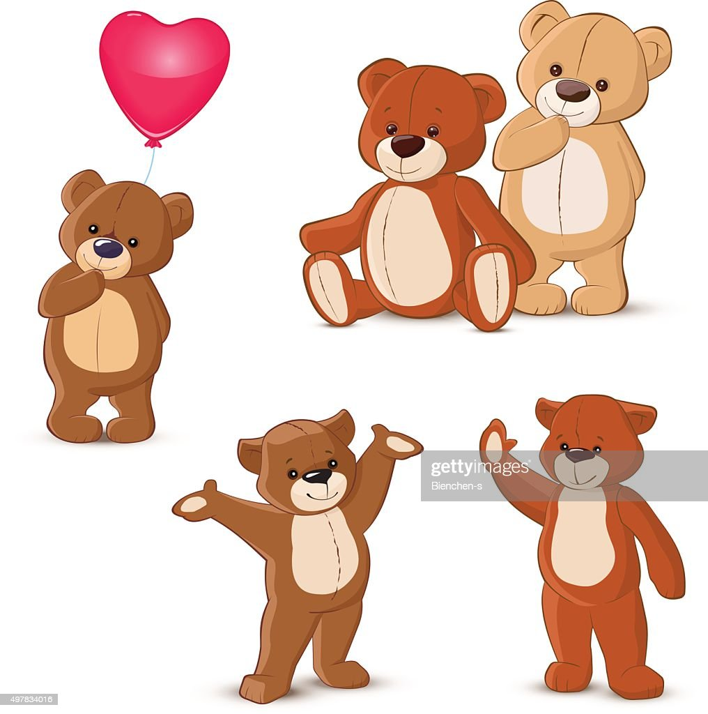 Teddy bears set