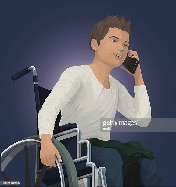 Teen em Cadeira de Rodas