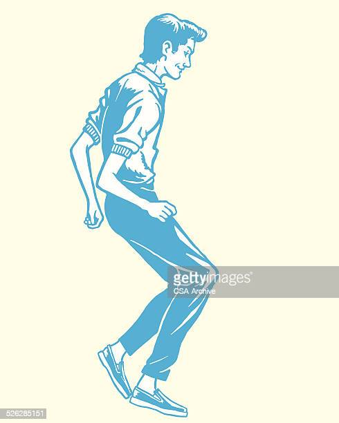 teenager dancing - teenagers only stock illustrations