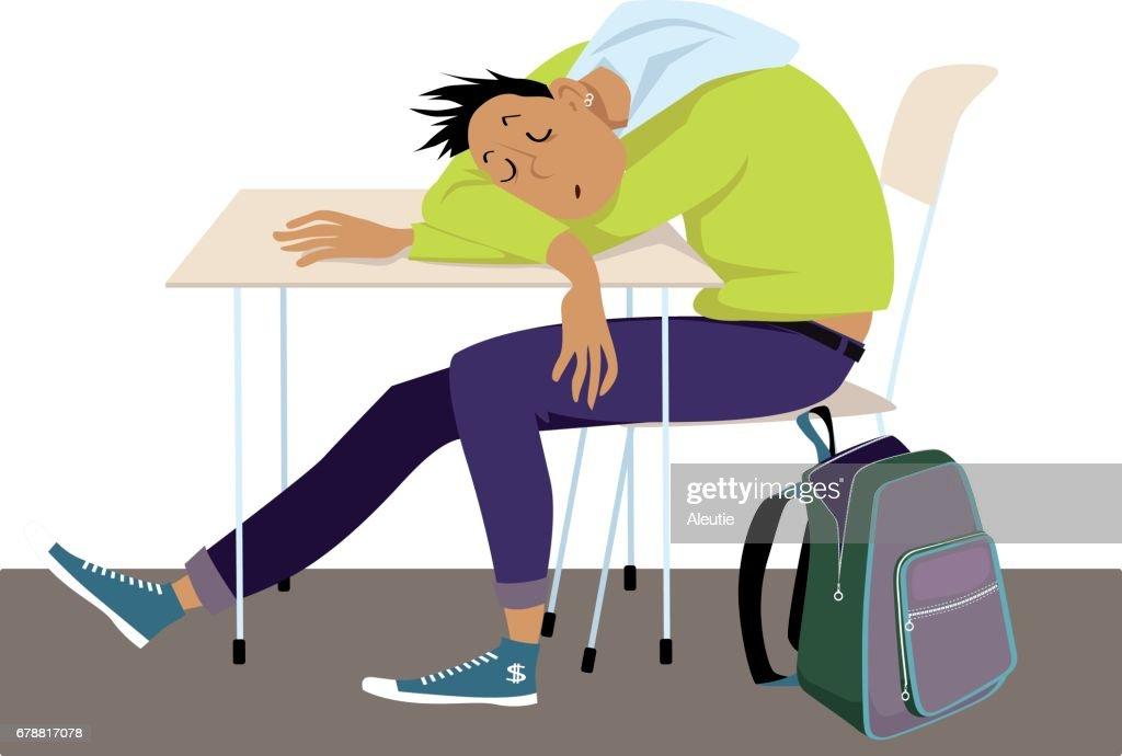 Teens and sleep problems