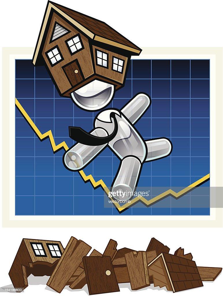 Teetering Property Market
