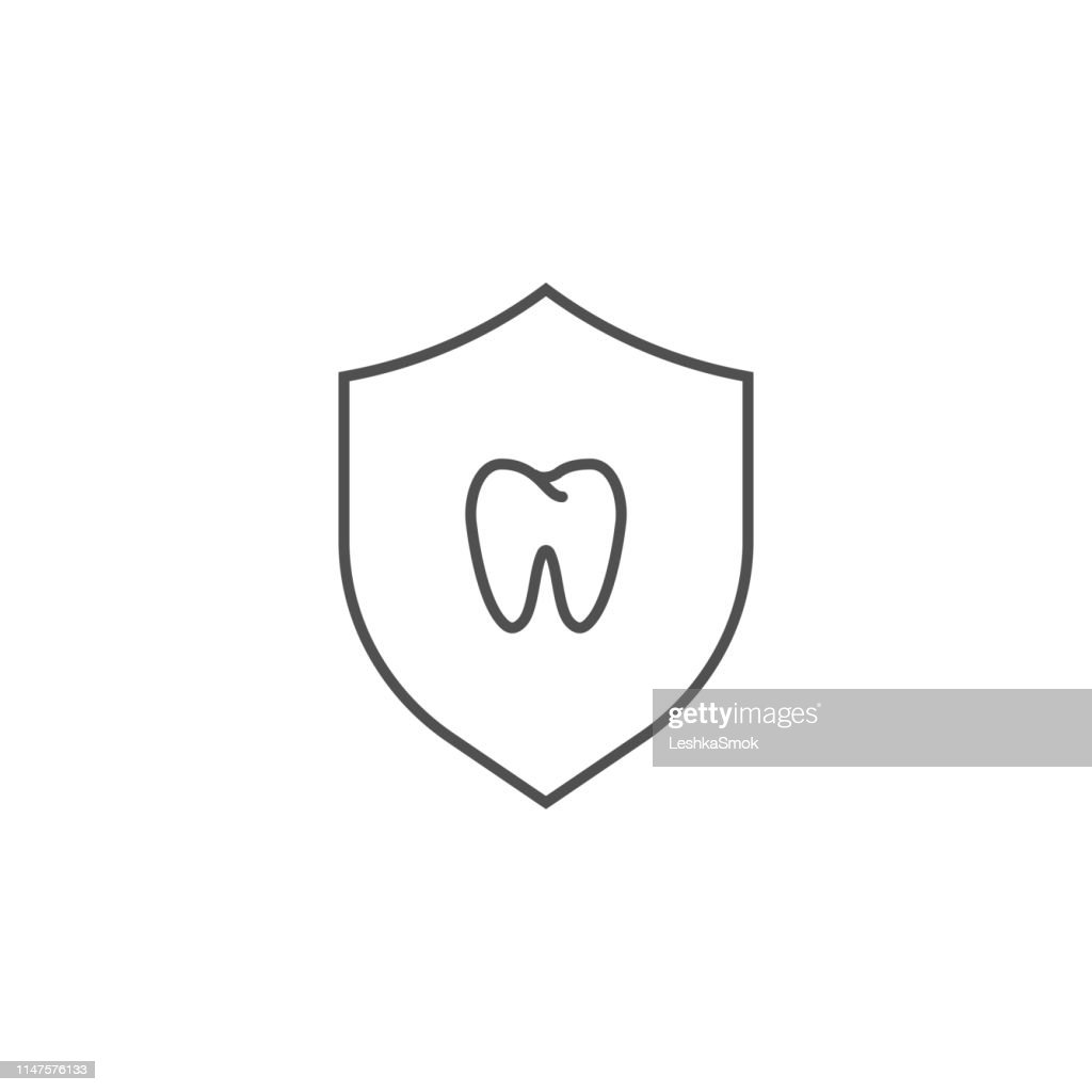 Teeth Protection Icon.