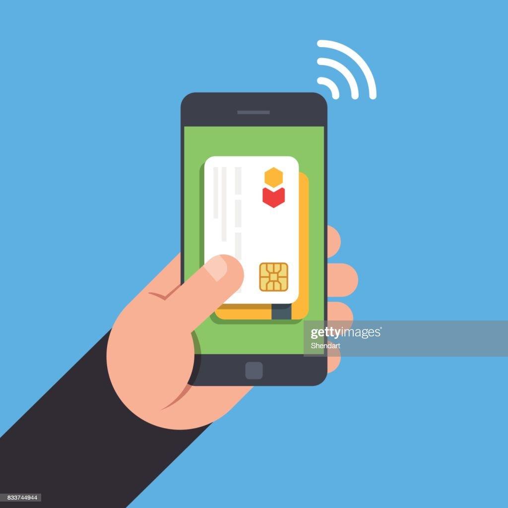 Carte Bancaire Sur Telephone.Tehnology Nfc Paiement Sans Contact Par Smartphone Carte Bancaire