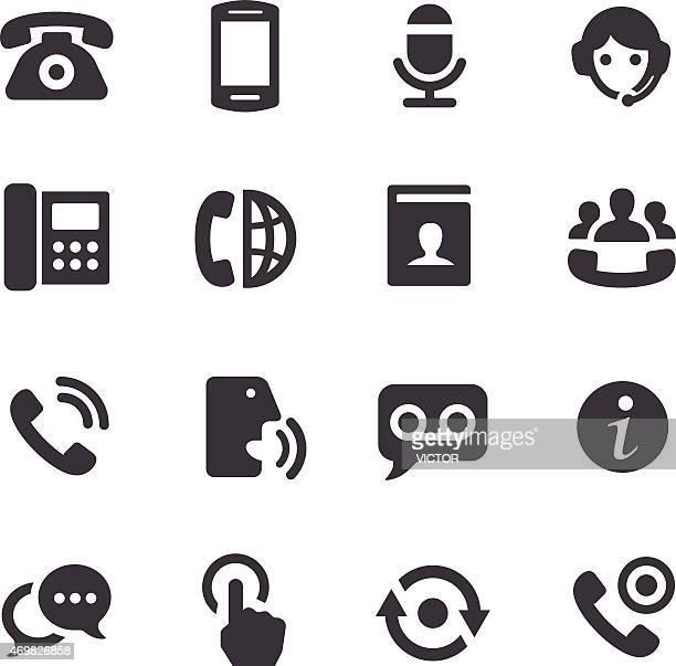 Telephone Icons - Acme Series