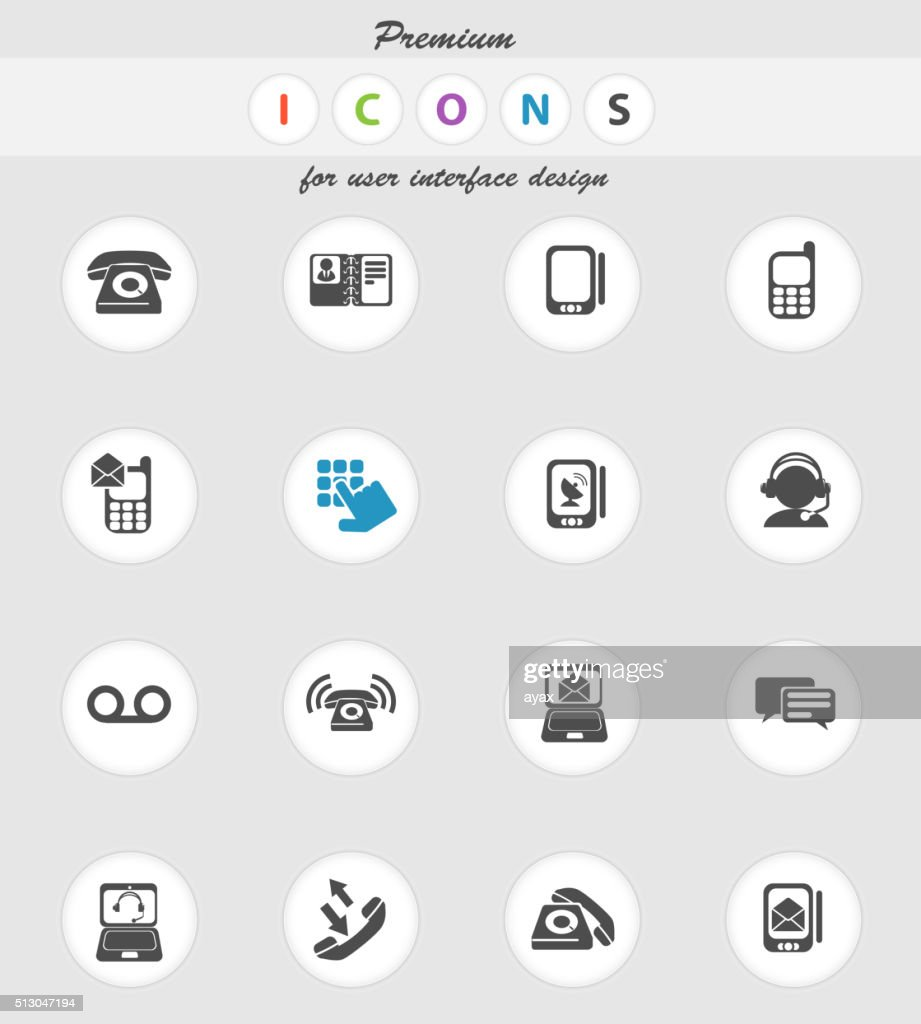 Telephone Icons icons