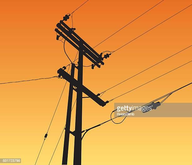 Telefonmast Vektorgrafiken und Illustrationen   Getty Images