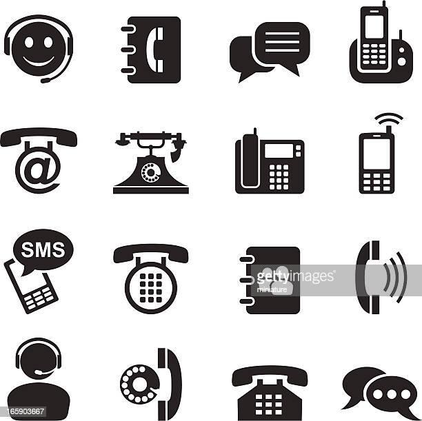 telephone - answering machine stock illustrations, clip art, cartoons, & icons