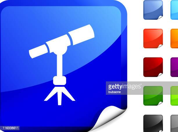 telescope internet royalty free vector art - voyeurism stock illustrations, clip art, cartoons, & icons