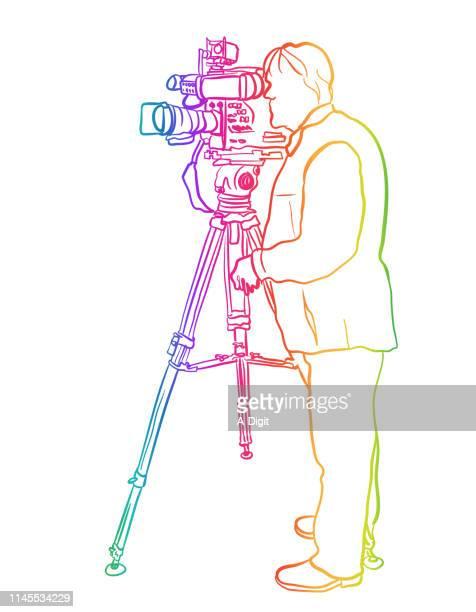 Fernsehsender Cameraman Rainbow