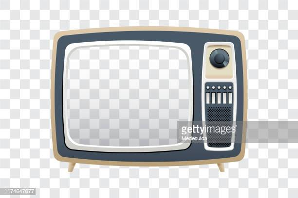 stockillustraties, clipart, cartoons en iconen met televisie - kanaal