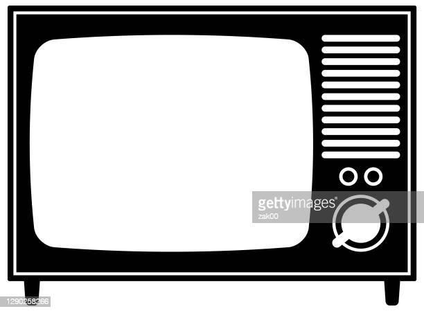 bildbanksillustrationer, clip art samt tecknat material och ikoner med tv - film and television screening
