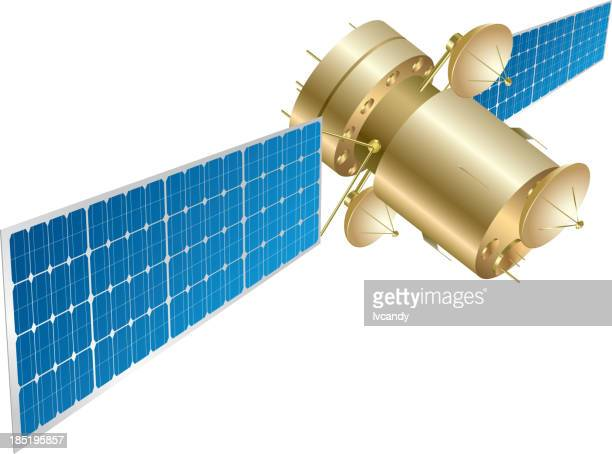 telstar - satellite view stock illustrations