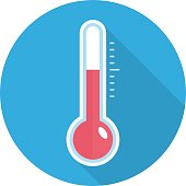 Temperature sensor icon.