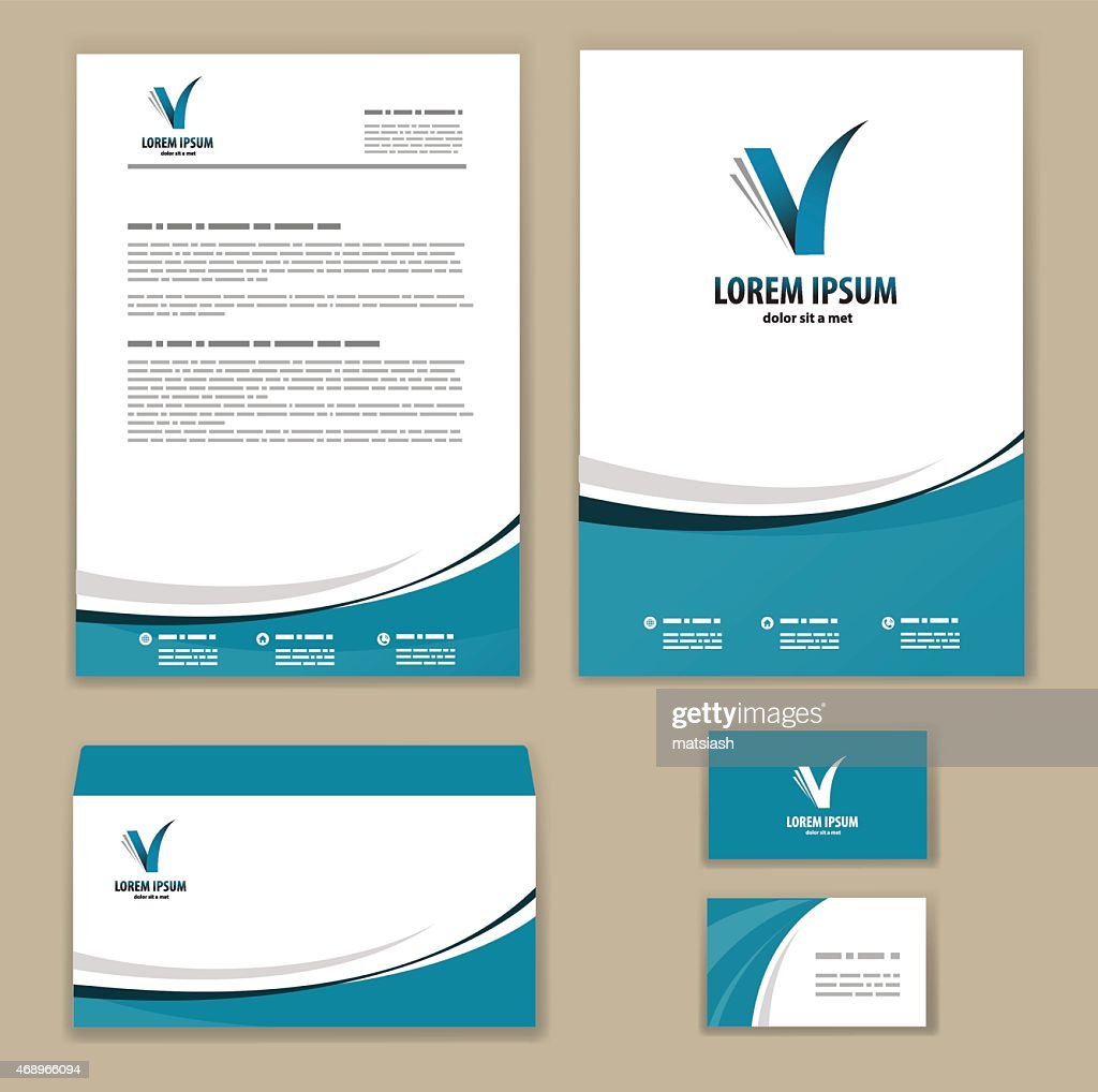 Template corporate style
