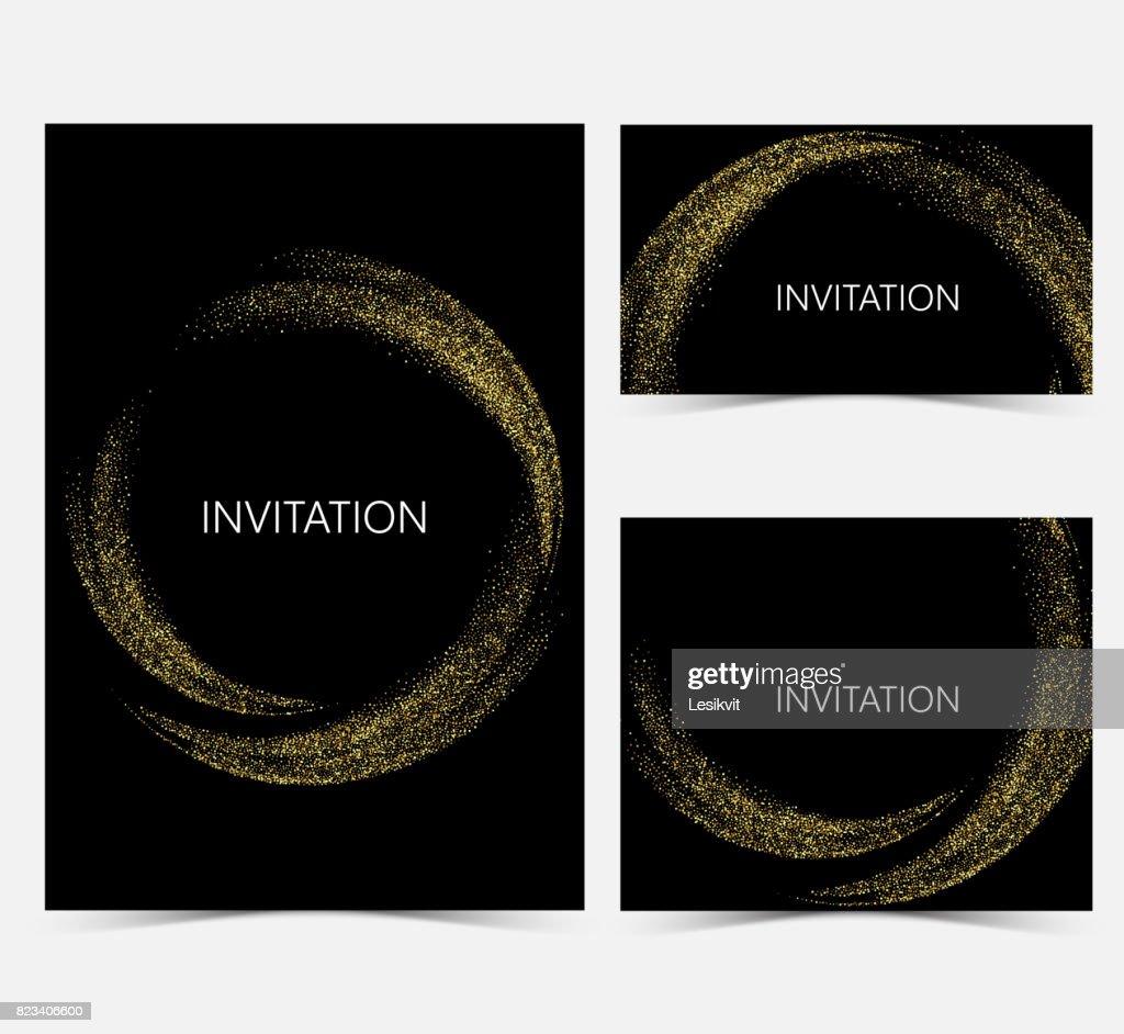 Template design invitations