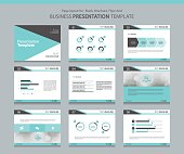 template for business presentation page