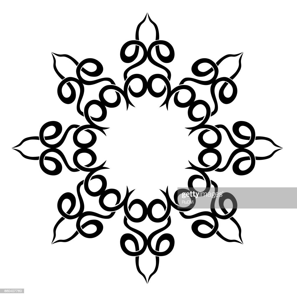 Tattoo Tribal Designs Template For Machine Embroidery Vector Art ...