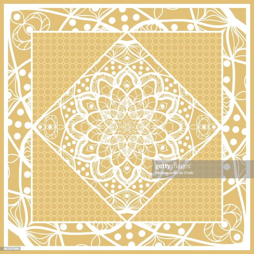 template print for sofa square pillow floral geometric pattern with