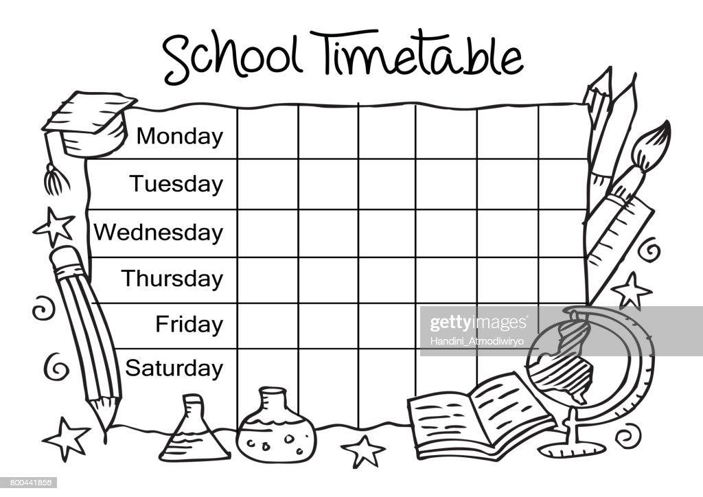 Großzügig Schule Zeitplan Vorlage Fotos - Bilder für das Lebenslauf ...