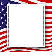 Template with a pattern of stars and stripes of colors of the national flag USA Patriotic Background for Holidays Independence Day Presidential Day Labor Day election Patriotic American theme Vector