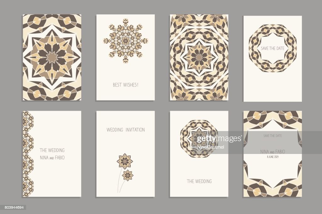 Templates For Greeting And Business Cards Brochures Covers Oriental