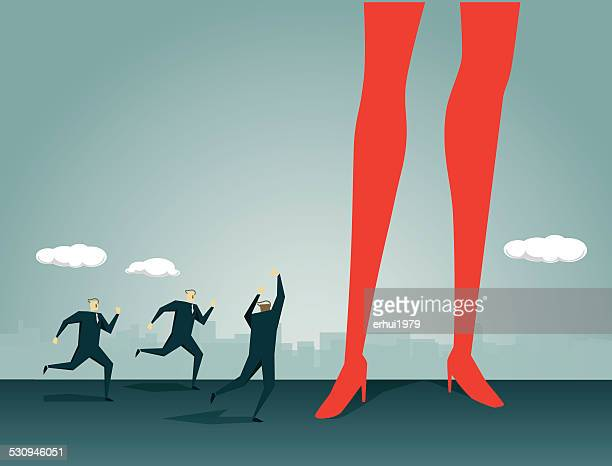 ilustrações, clipart, desenhos animados e ícones de tentação - perna humana