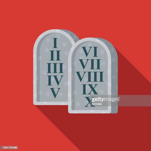 Ten Commandments Christian Icon