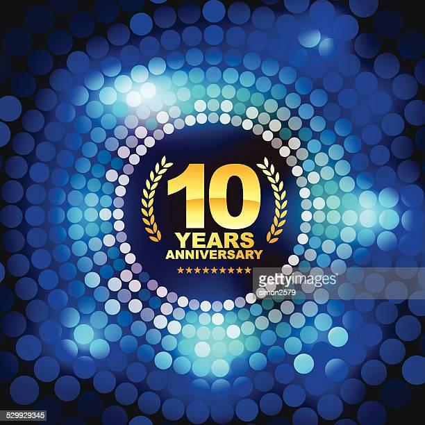 10 年周年記念