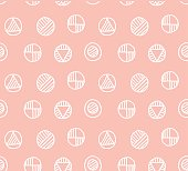 tender color vector seamless pattern