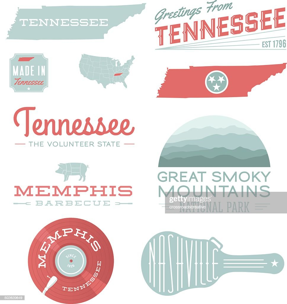 Tennessee Typography