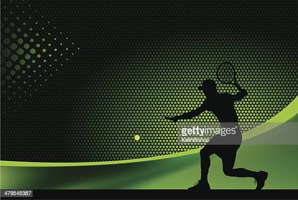 tennis background - male - tennis stock illustrations