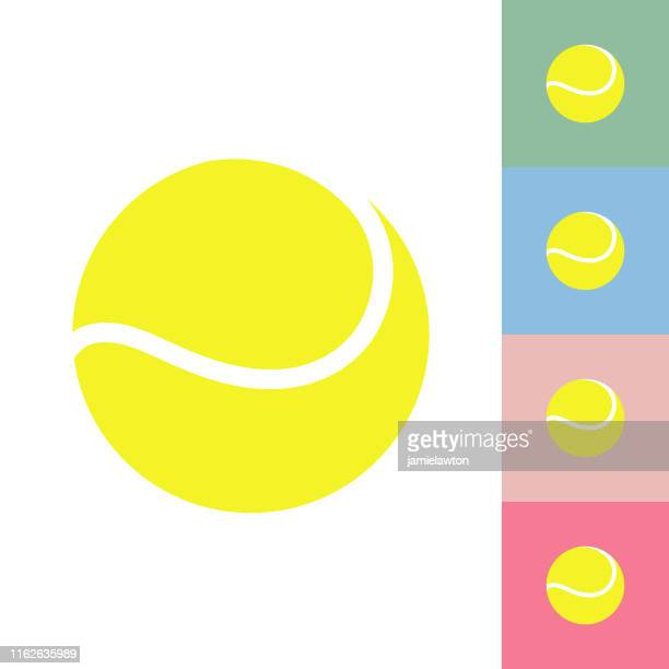 tennis ball - tennis ball stock illustrations