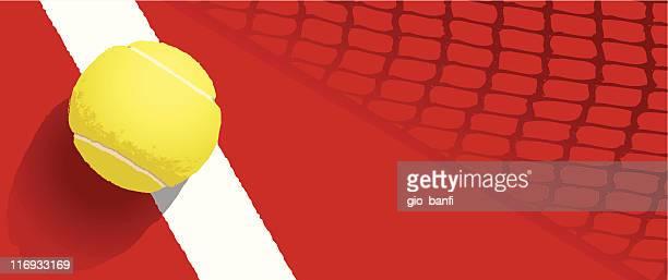 illustrazioni stock, clip art, cartoni animati e icone di tendenza di pallina da tennis - tennis