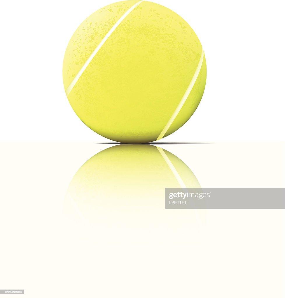Tennis Ball - Vector Illustration