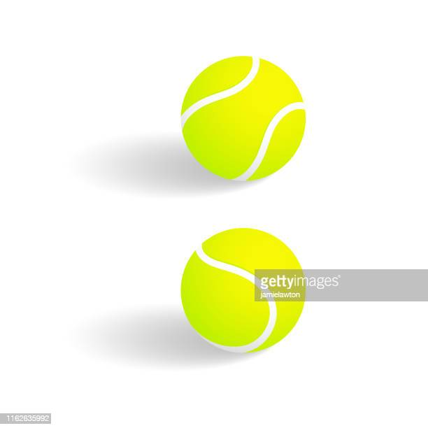 tennis balls - tennis ball stock illustrations