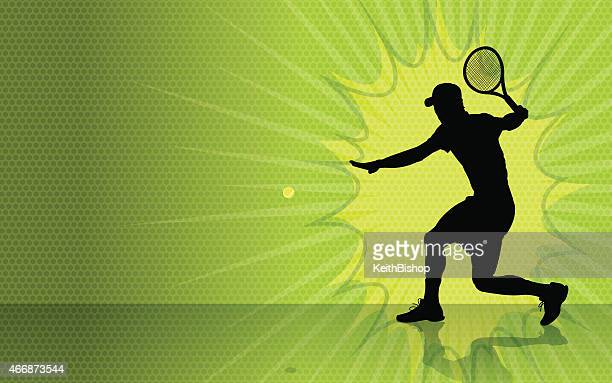 tennis burst background - traditional sport stock illustrations, clip art, cartoons, & icons