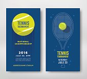 Tennis championship poster