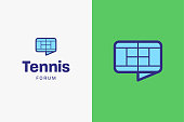Tennis court icon.