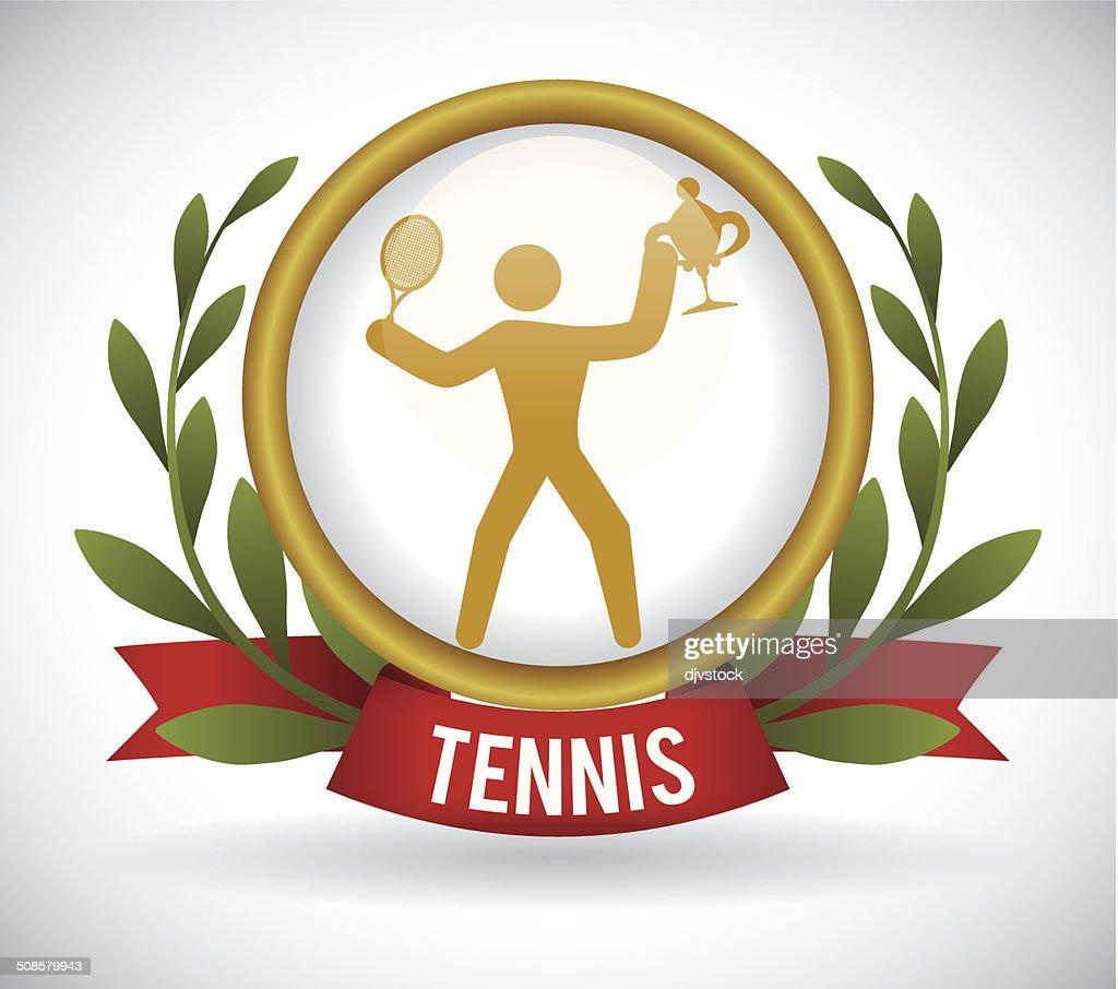 tennis design : Vectorkunst