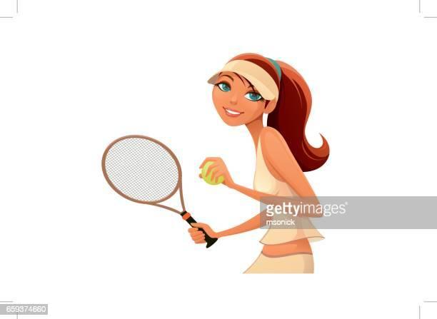 tennis player woman