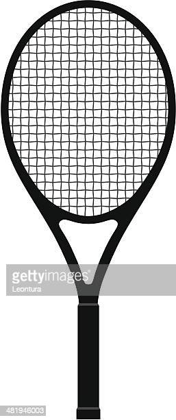 tennis racquet - tennis stock illustrations