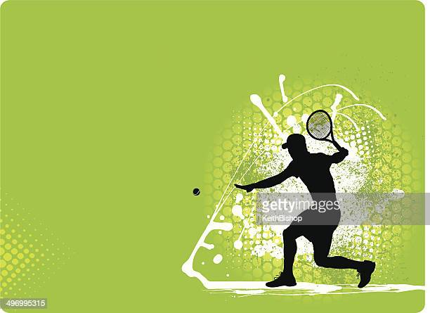 tennis star background - traditional sport stock illustrations, clip art, cartoons, & icons