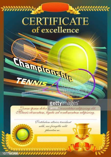 tennis - tournament of champions stock illustrations, clip art, cartoons, & icons
