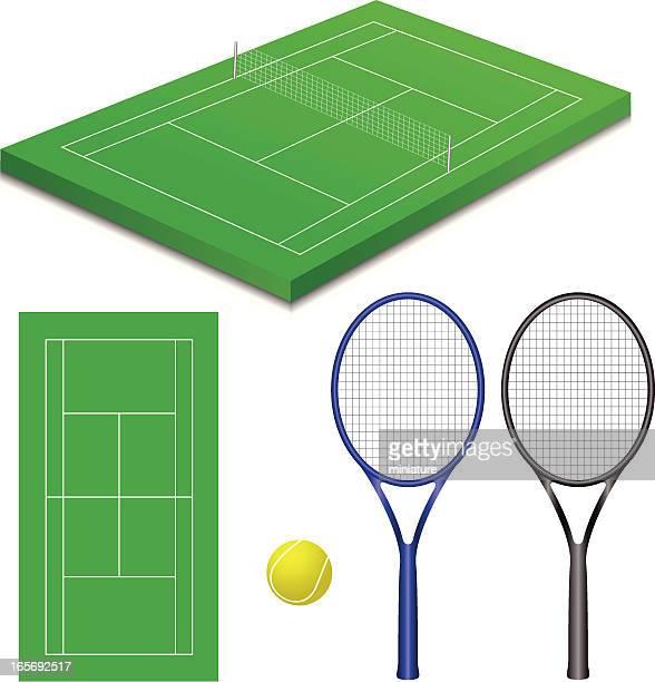 60点のテニスコートのイラスト素材クリップアート素材マンガ素材