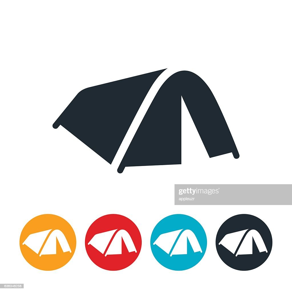 Tent Icon  sc 1 st  Getty Images & Dome Tent Stock Illustrations And Cartoons | Getty Images