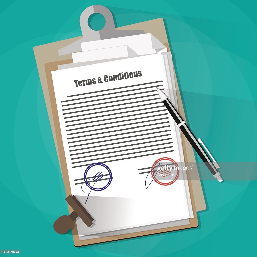 Terms and Conditions Legal Agreement.