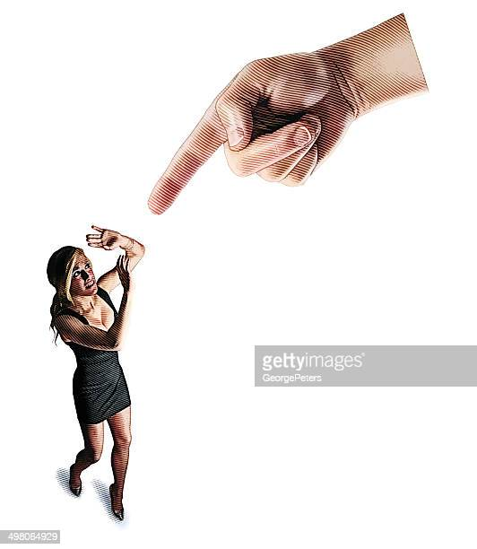 terrified woman being attacked - gasping stock illustrations, clip art, cartoons, & icons