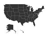 USA territories map