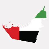 Territory of  United Arab Emirates